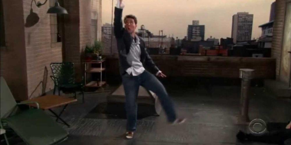 ted-rain-dance-how-i-met-your-mother